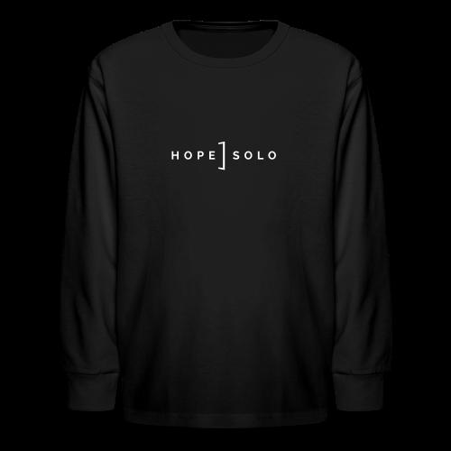 Hope Logo Long Sleeve Tee - Kids' Long Sleeve T-Shirt