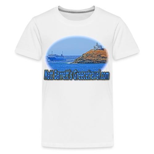 GREECETRAVELFERRY (kids) - Kids' Premium T-Shirt