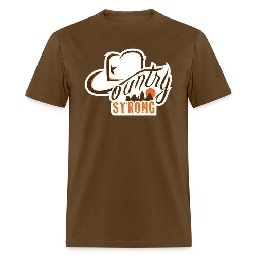 Country Strong Brown Shirt - Men's T-Shirt