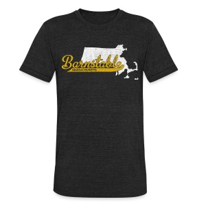 Barnstable MA - Unisex Tri-Blend T-Shirt by American Apparel