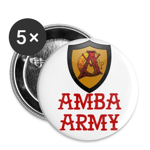 Amba Army Butt-ons - Large Buttons