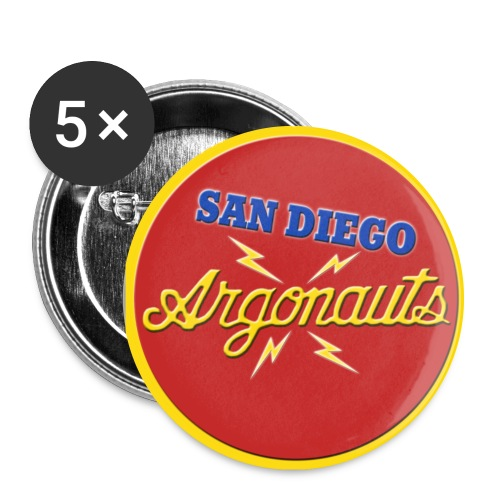 Argonauts Pin - Large Buttons