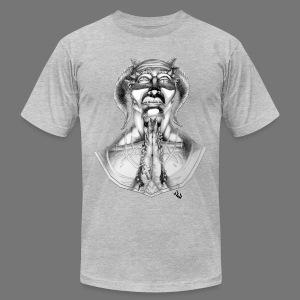 Prayer - Men's T-Shirt by American Apparel