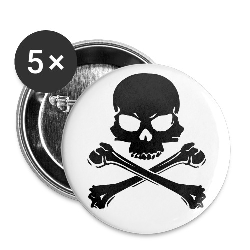 Skull Badge - Small Buttons
