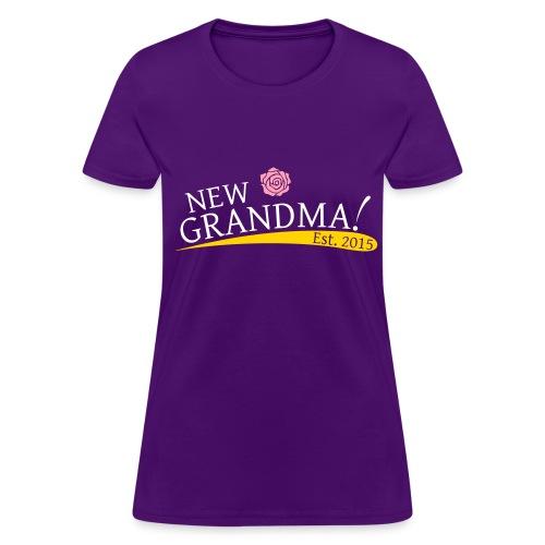 New Grandma - 2015 - The Rose - Women's T-Shirt