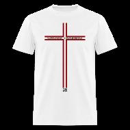 T-Shirts ~ Men's T-Shirt ~ Cross w/dark art