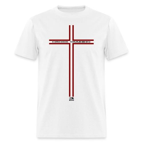 Cross w/dark art - Men's T-Shirt