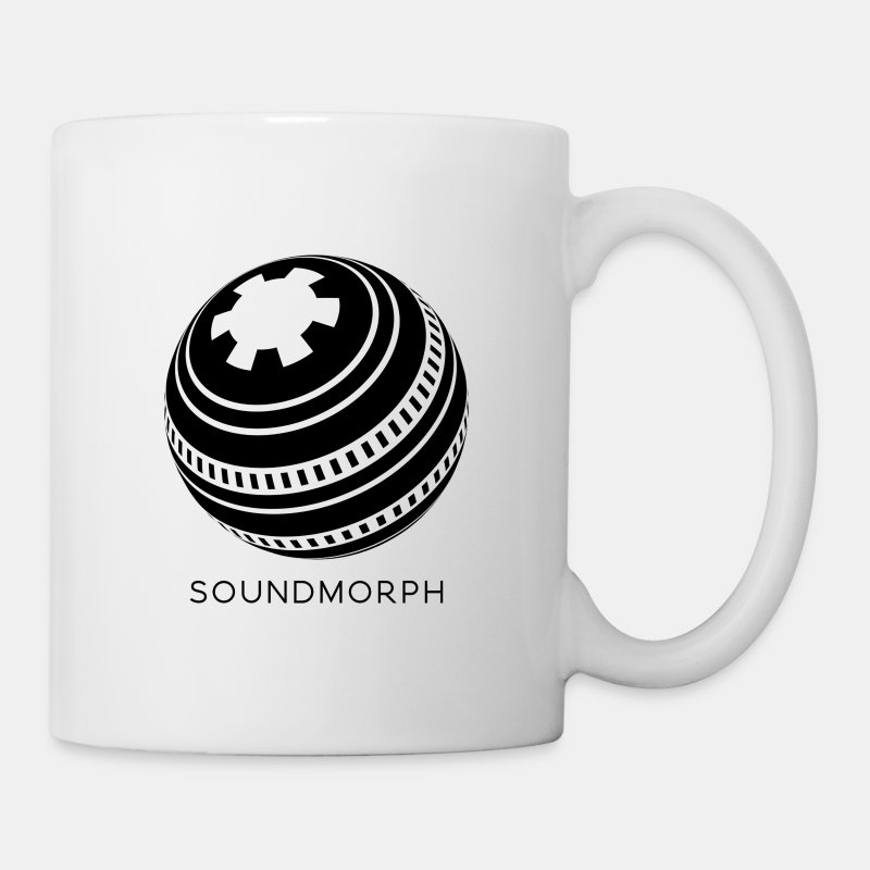 Coffee/Tea Mug - Here at SoundMorph we like our coffee as black as midnight on a moonless night. pretty black.