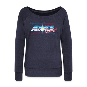 Arcade Fever 81 - Women's Wideneck Sweatshirt
