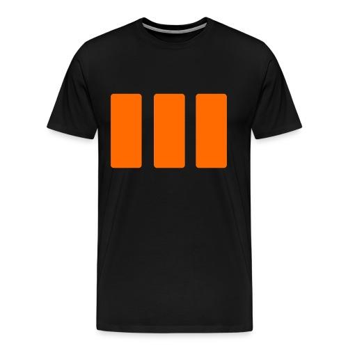 Black Ops 3 – Simplified Logo - Men's Premium T-Shirt