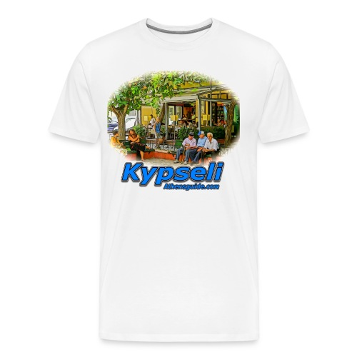 KYPSELI OLD PEOPLE  1 (MEN) - Men's Premium T-Shirt