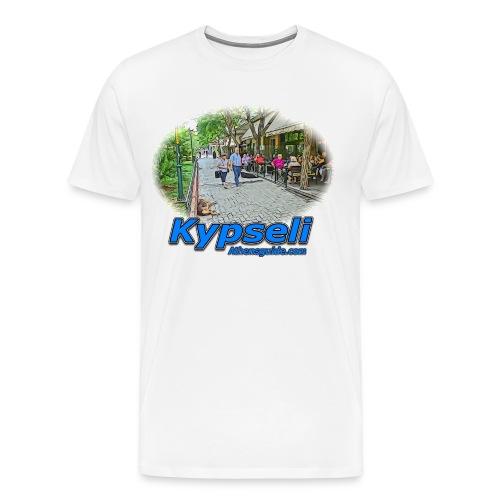 KYPSELI HAPPENING (men) - Men's Premium T-Shirt