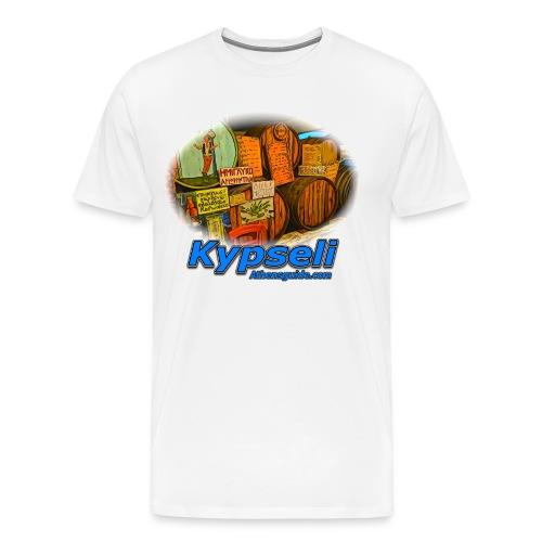 KYPSELI KAVA (men) - Men's Premium T-Shirt
