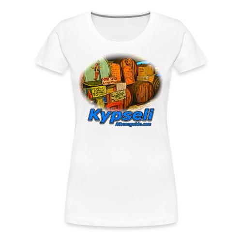 KYPSELI KAVA (women) - Women's Premium T-Shirt