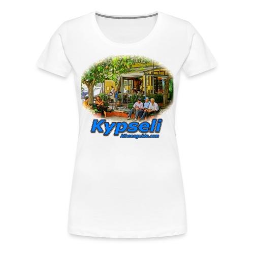 KYPSELI OLD PEOPLE  1 (women) - Women's Premium T-Shirt