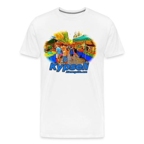 Kypseli Laiki Agora (men) - Men's Premium T-Shirt