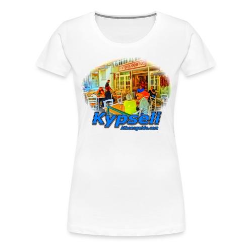 Kypseli Bakalogatos (women) - Women's Premium T-Shirt