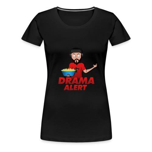Drama Alert - Popcorn Women's Graphic Tee  - Women's Premium T-Shirt