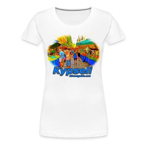 Kypseli Laiki Agora (women) - Women's Premium T-Shirt