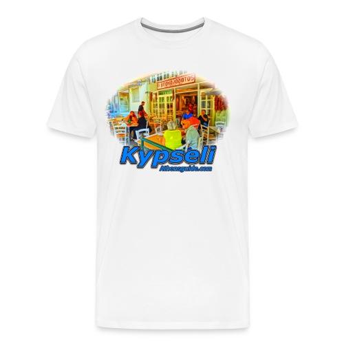 Kypseli Bakalogatos (men) - Men's Premium T-Shirt