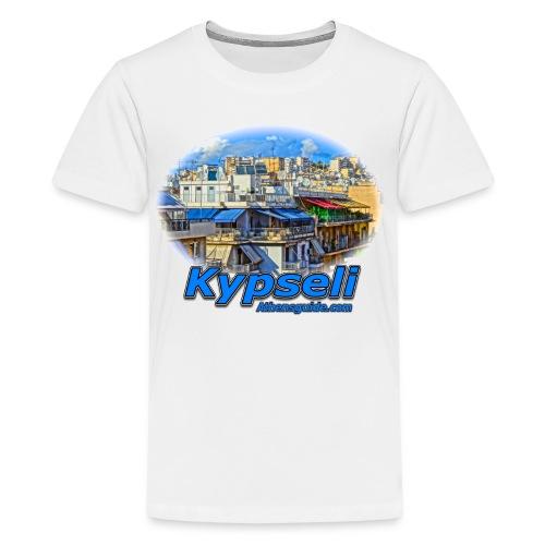 Kypseli Apartments (kids) - Kids' Premium T-Shirt