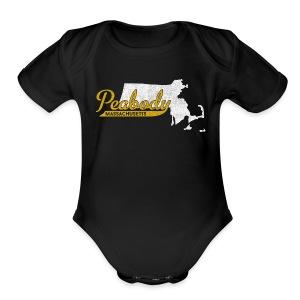 Peabody MA - Short Sleeve Baby Bodysuit