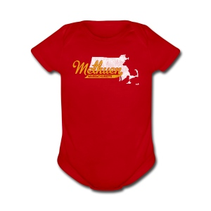 Methuen MA - Short Sleeve Baby Bodysuit