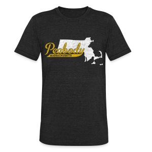 Peabody MA - Unisex Tri-Blend T-Shirt by American Apparel