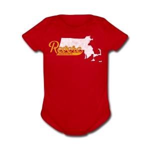Revere MA - Short Sleeve Baby Bodysuit