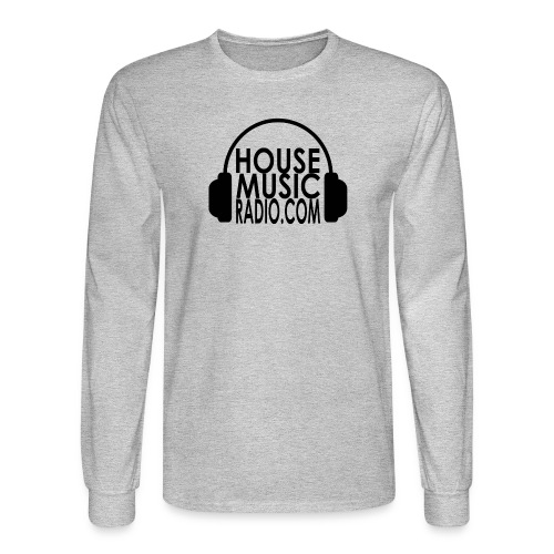 House Music Radio Long Sleeve T-shirt Men - Men's Long Sleeve T-Shirt