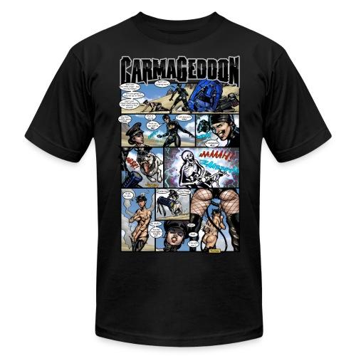 Comic #4 - Men's Fine Jersey T-Shirt