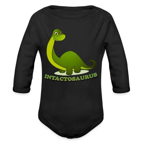Intactosaurus! - Organic Long Sleeve Baby Bodysuit