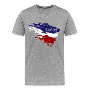 Les Miserables 24601 v3 T-Shirts - Men's Premium T-Shirt