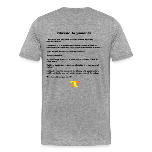 Classic Arguments (light) - Men's Premium T-Shirt