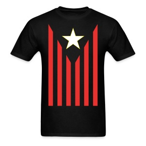 Metro Flag / Long As We're Breathing - Men's T-Shirt
