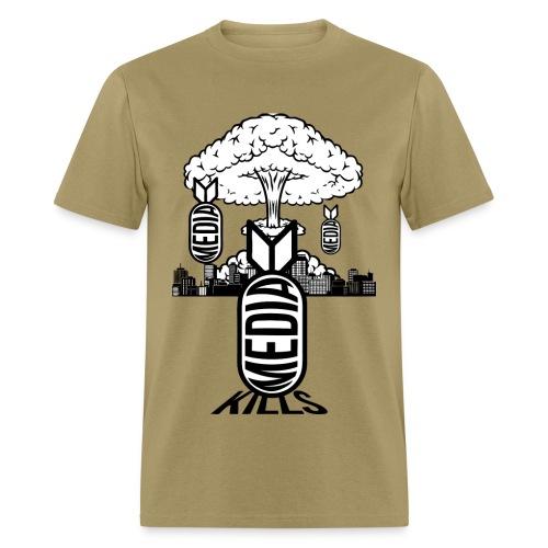 MEDIA KILLS - Men's T-Shirt