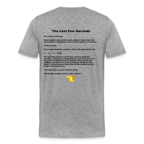 The Last Few Seconds (light) - Men's Premium T-Shirt