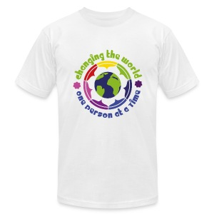 Ambassador T-shirt Man 'World' - Men's Fine Jersey T-Shirt