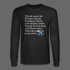 This Lake is Your Lake - Men's Long Sleeve T-Shirt