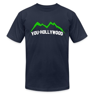 You-Hollywood Shirt - Men's T-Shirt by American Apparel