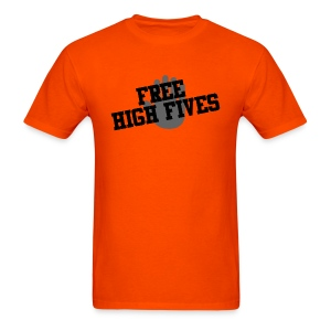 'Free High Fives' Shirt - Multiple colors! - Men's T-Shirt