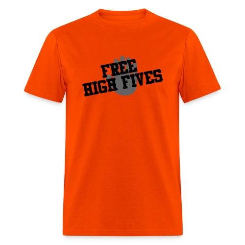 'Free High Fives' Shirt - Multiple colors! - Men's T-Shirt