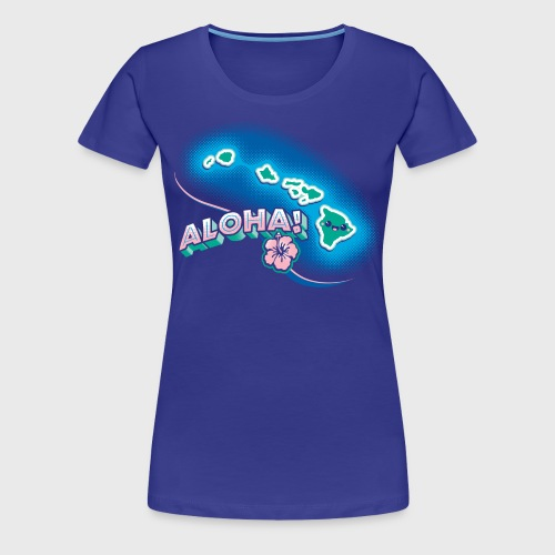 Hawaii Kawaii - Women's Premium T-Shirt