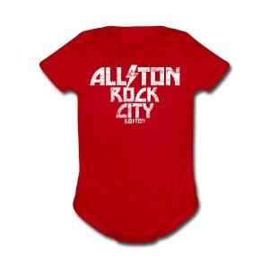 Allston Rock City - Short Sleeve Baby Bodysuit
