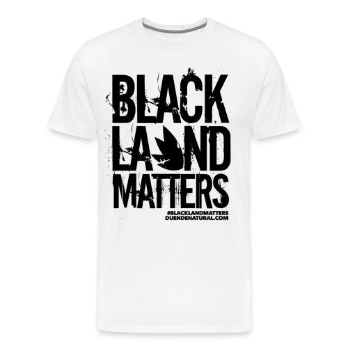 Duende #BlackLandMatters Men's-Black - Men's Premium T-Shirt