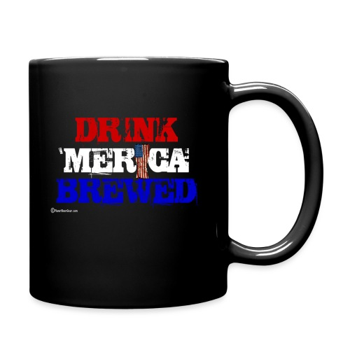 Drink 'Merica Brewed Full Color Mug - Full Color Mug
