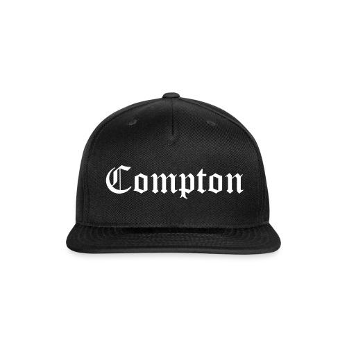 BLK Compton Snapback - Snap-back Baseball Cap
