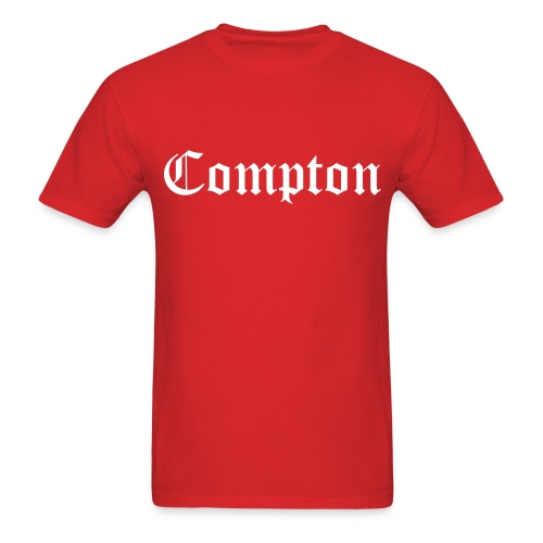 Red Compton Tee - Men's T-Shirt