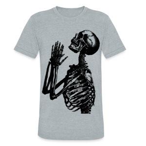 Pray to Death  - Unisex Tri-Blend T-Shirt