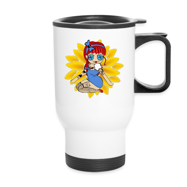 Kansas Travel Mug
